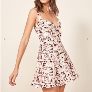 NWOT Reformation Kimmy Dress in Ref Babe, Size 4
